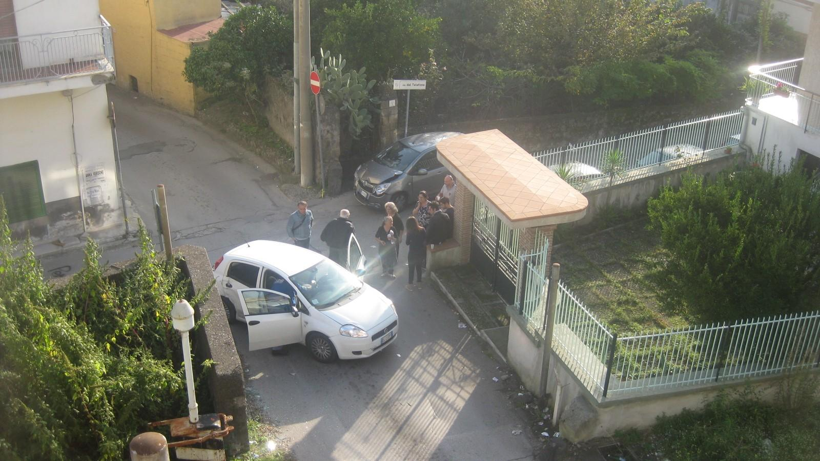 INCIDENTE VIA DEL TELEFONO. 001